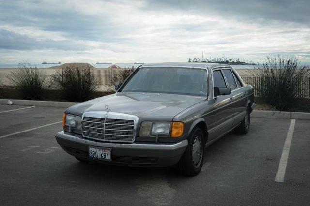 1986 Mercedes-Benz 500-Series SEL