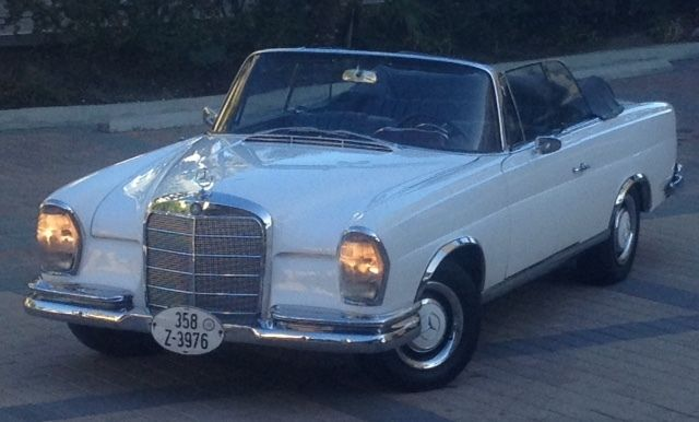1962 Mercedes-Benz 200-Series Cabriolet