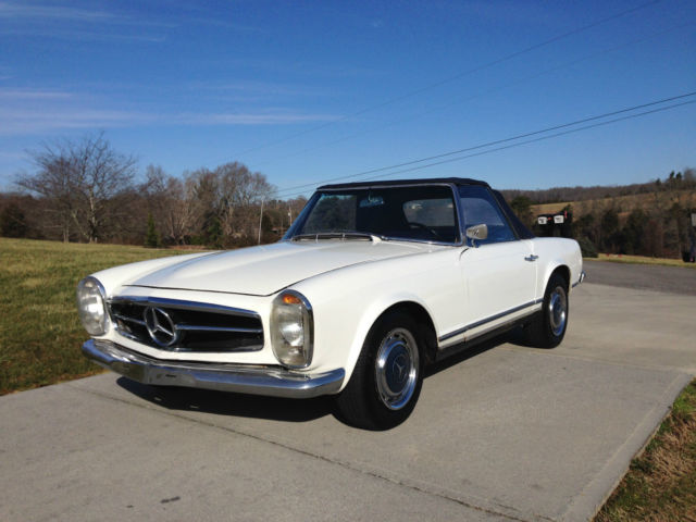 mercedes benz 230sl w113 with m129 250sl engine nice original pagoda for sale photos technical. Black Bedroom Furniture Sets. Home Design Ideas