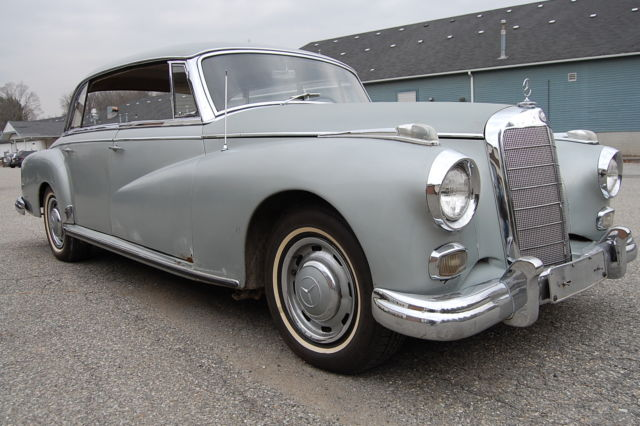 1959 Mercedes-Benz 300-Series Adenauer W189 Limo 25,037 miles Needs TLC