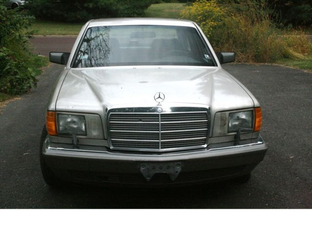 1987 Mercedes-Benz 300-Series SDL