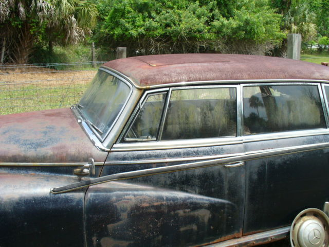 Mercedes benz 300d adenauer 1957 sunroof long sedan for for Mercedes benz sunroof repair