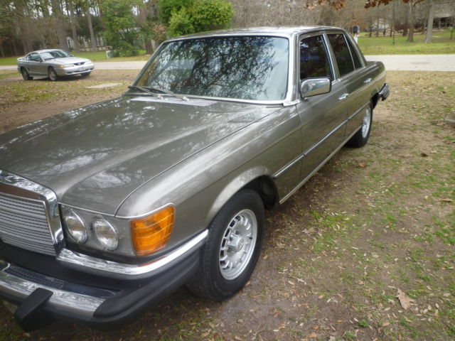 mercedes benz 300sd turbo diesel 1980 stunning condition