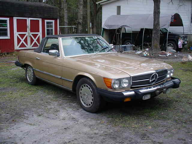 1983 Mercedes-Benz 300-Series 380 SL Convertible