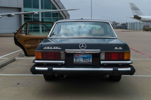 mercedes benz 450 sel 6 9 for sale photos technical