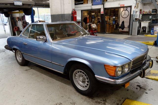 Mercedes Benz 450SL Diamond Blue/Beige Euro Spec $4700