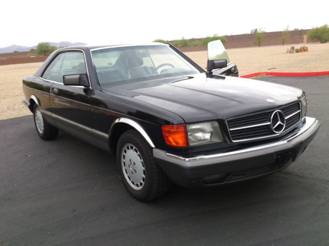 Mercedes benz 500 sec black 2 door coupe only 112 900 for Mercedes benz 2 door coupe for sale