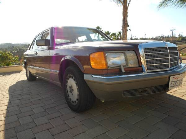 1986 Mercedes-Benz 500-Series 560 SEL, 560SEL, W126