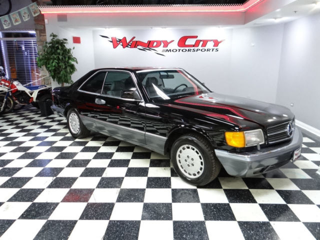1989 Mercedes-Benz 500-Series 560 Series 2dr Coupe 560SEC Automatic