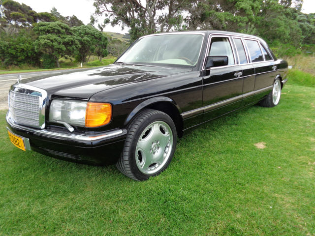 Mercedes Benz Carat By Duchatelet Limousine W126 Only