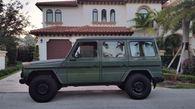 1982 Mercedes-Benz G-Class 300GD military version súper nice, excellent  condition