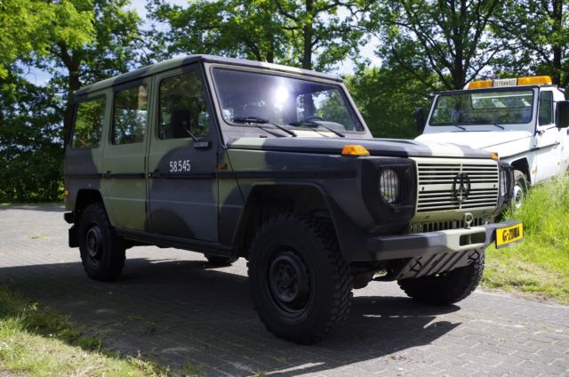Mercedes benz g class original 5 doors stafcar military for Mercedes benz g class truck price