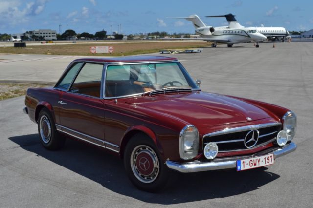 Mercedes Benz Pagoda One Of The Best Cars Manufactured By Mercedes