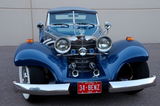 1934 Replica/Kit Makes Mercedes Benz 500K 540K Oldtimer 500 Cabriolet