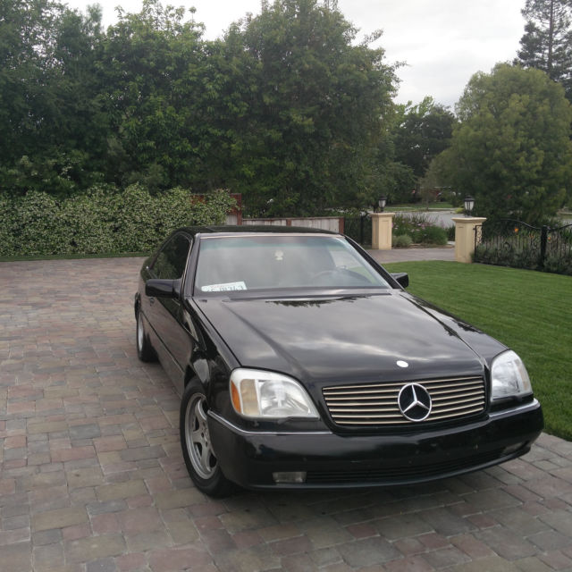 Mercedes benz s600 coupe for sale photos technical for S600 mercedes benz for sale