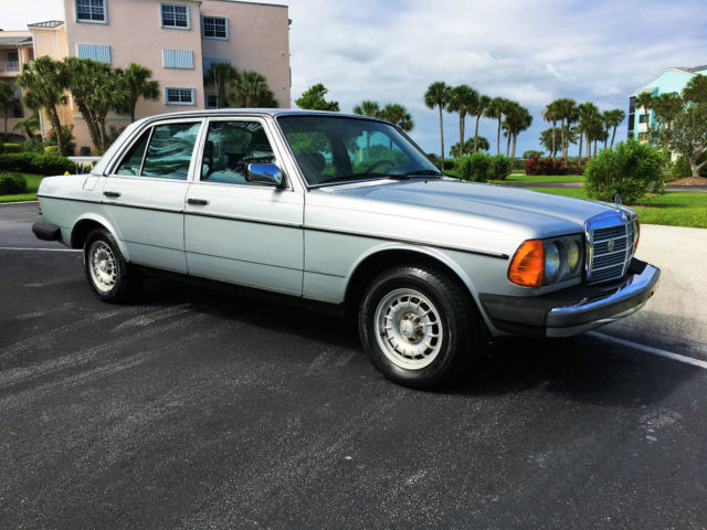 mercedes w123 300d turbo diesel super clean service