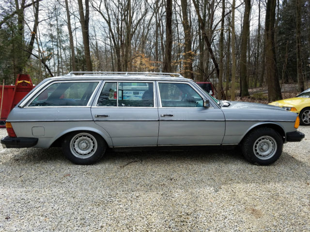 mercedes wagon 300td turbo turbo diesel w123 for sale