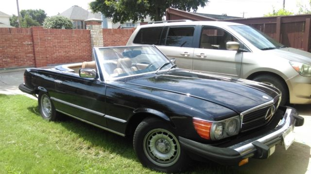 1981 Mercedes-Benz 300-Series 380 SL