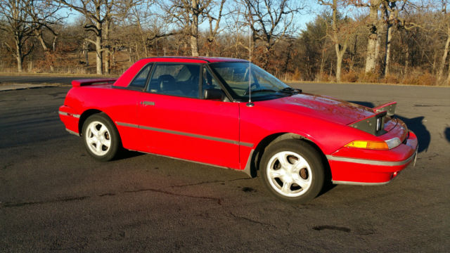 1991 Mercury Capri XR2 Turbo