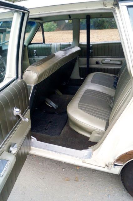 1967 Brown Mercury Grand Marquis Colony Park with Tan interior