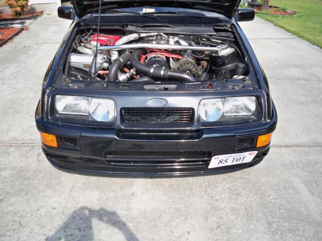 Merkur XR4TI 23 Turbo Ford Turbo Coupe for sale photos