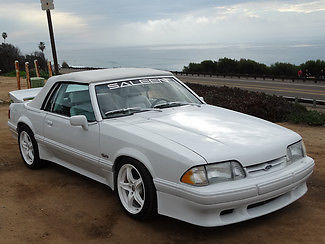 1988 Ford Mustang Saleen LX Convertible
