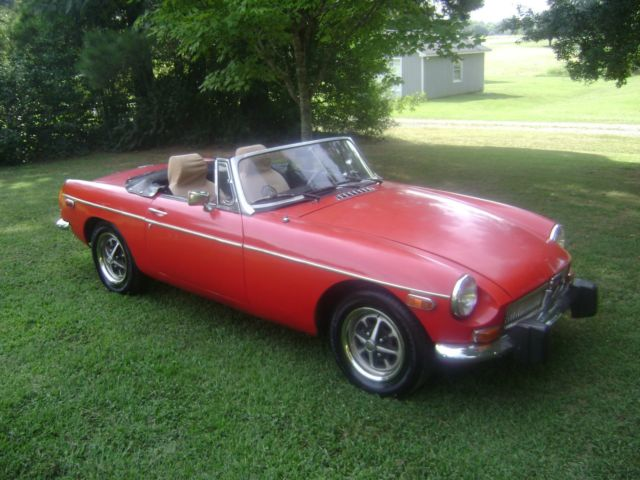 1974 MG MGB Convertible