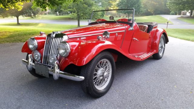 1955 MG T-Series Leather