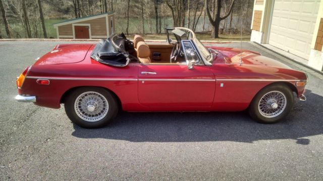 1972 MG MGB MGB convertable