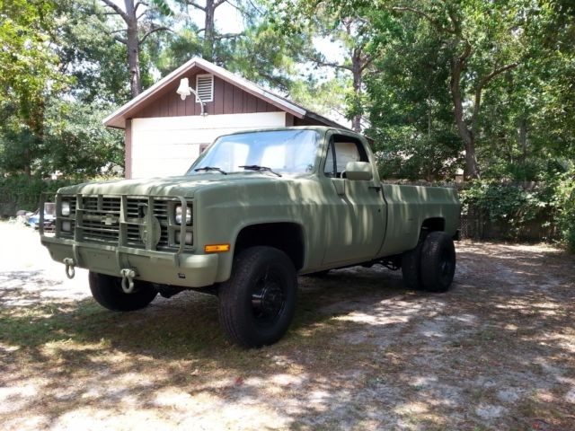 MILITARY CUCV M1028 CHEVY 4X4 ALABAMA AIR FORCE LOW MILES