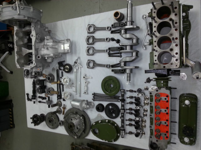 Mini Cooper S 1275 Engine Gearbox Only For Sale Photos Technical