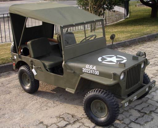 1942 Jeep Willys Mini