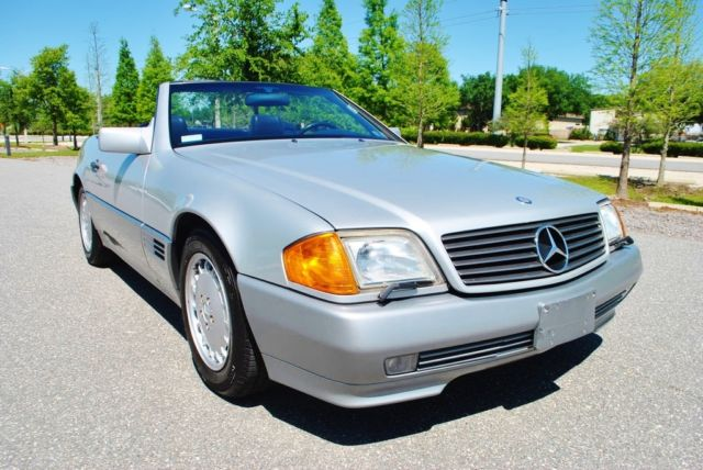 1991 Mercedes-Benz SL-Class 300SL Convertible Only 69,410 Miles Beautiful Car