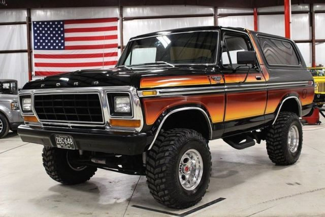 MINT CONDITION 1979 FORD BRONCO XLT RANGER FREE WHEELING