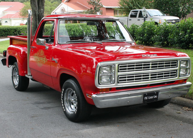 1979 Dodge D150 LIL' RED EXPRESS  - SURVIVOR - 30K MILES