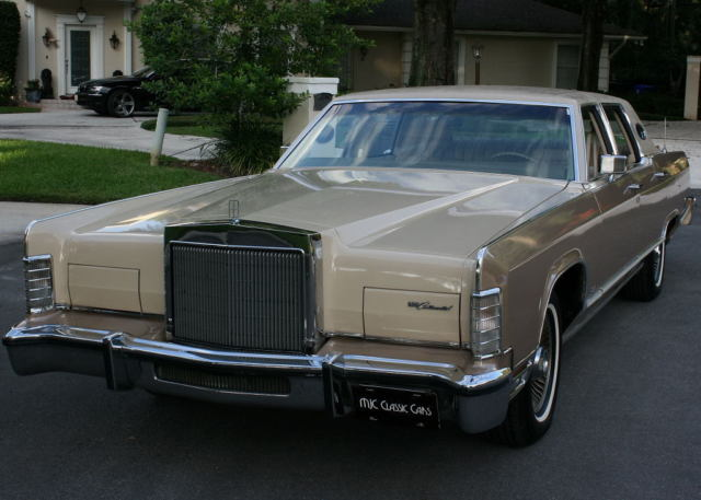 1978 Lincoln Town Car WILLIAMSBURG EDITION - 2 OWNER - 67K MI