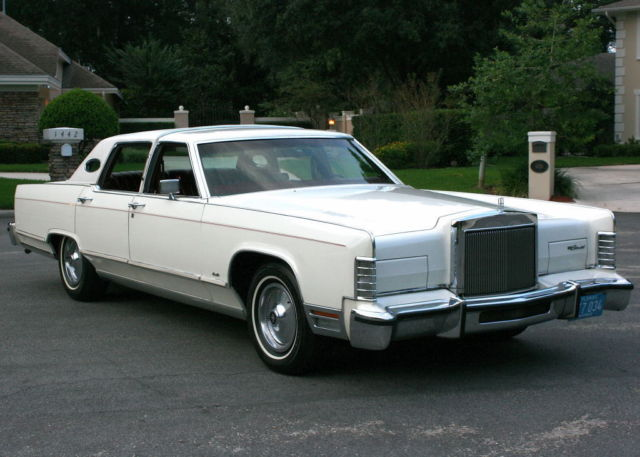 1978 Lincoln Town Car TOWNCAR - TWO OWNER - 16K MILES