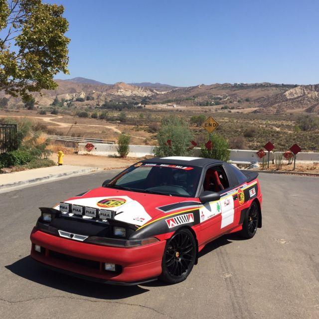 Mitsubishi Eclipse 1990 1G GSX Rally Race Tribute Ralliart