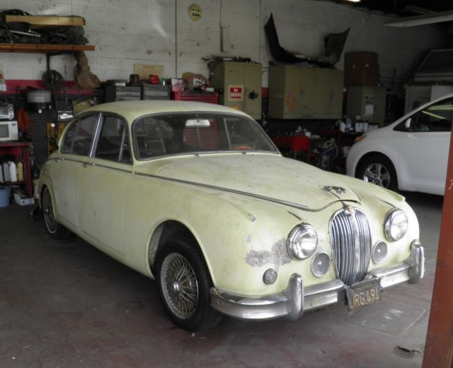 1962 Jaguar MKII Leather