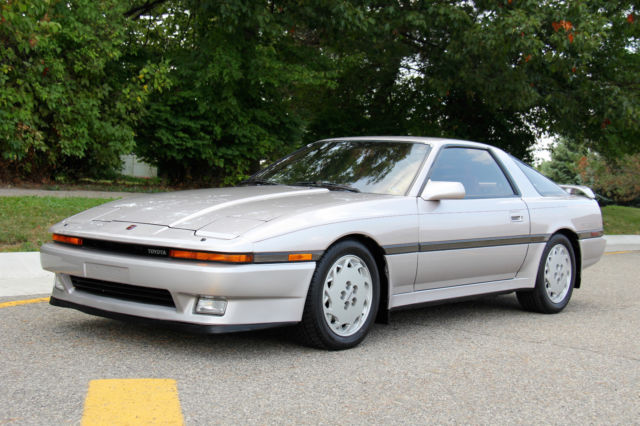 MK3 Supra Turbo, 5-Speed Manual, 26k Orig Miles, Clean Carfax, WATCH VIDEO for sale: photos ...