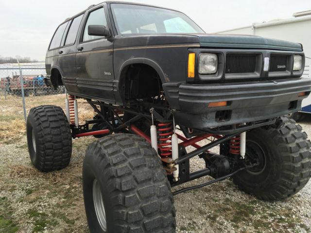 Monster truck 454 bravada full custom chassis truck for sale photos