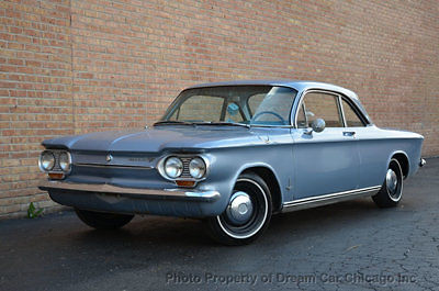 1963 Chevrolet Corvair MONZA COUPE !!! DESIRED MANUAL TRANS !!! CLASSIC !!!
