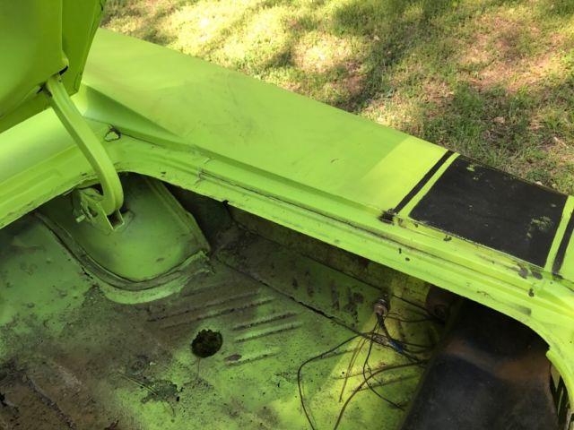 Mopar 1970 Dodge Charger R/T 440 Sublime Green 1968 1969