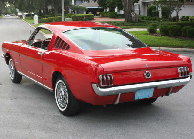 1965 Ford Mustang FASTBACK  - 78K MILES