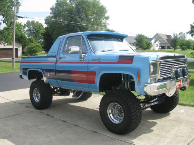 Multiple Magazine Featured 1977 Lifted Custom Chevy Scottsdale 10