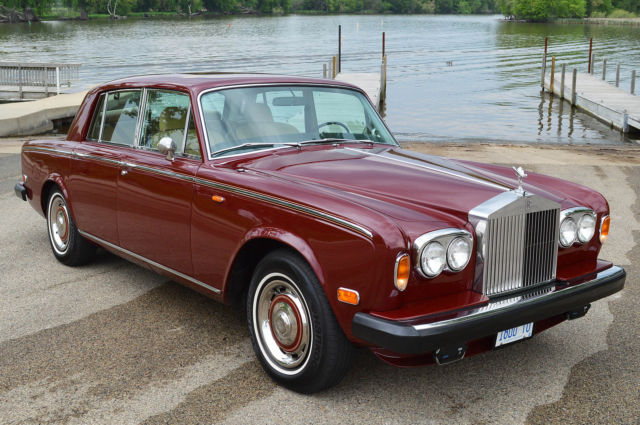 1975 Rolls-Royce Silver Shadow - 4 door saloon