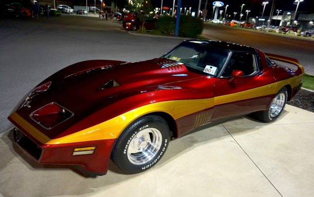 museum 1980 custom corvette stingray bill mitchell for sale photos technical specifications. Black Bedroom Furniture Sets. Home Design Ideas