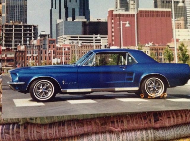 1967 Ford Mustang Exterior Deco Group