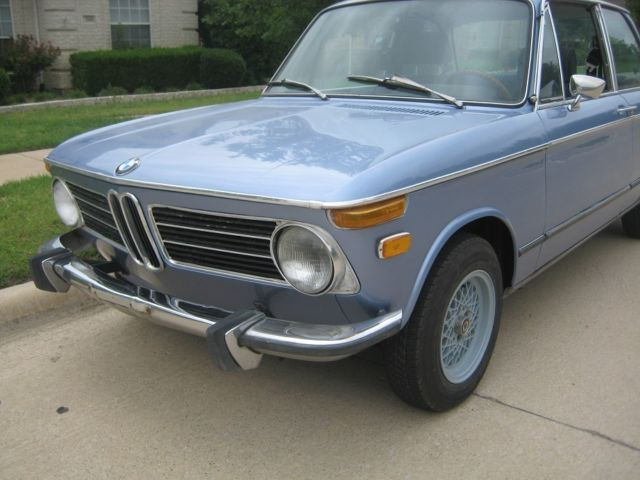 1973 Fjord BMW 2002 Coupe with Blue interior
