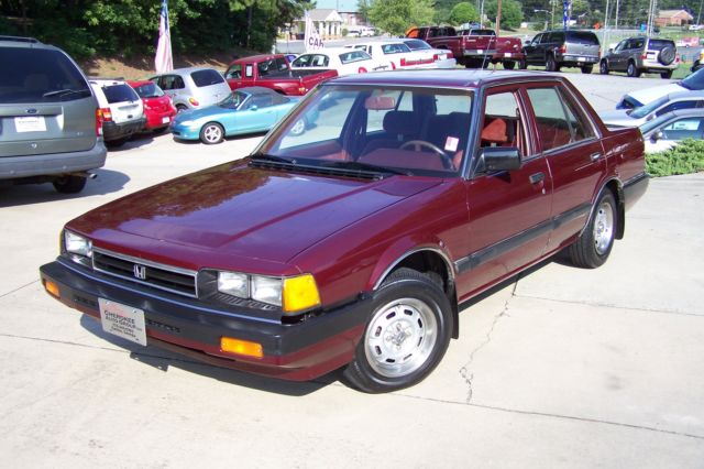 1984 Honda Accord 1-OWNER LX SEE VIDEO & PHOTOS ON THIS 31 SURVIVOR